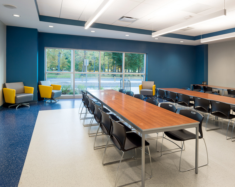 Interior shot of the Session Space at Warinanco Park